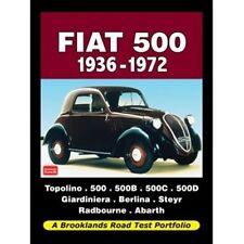 FIAT 500 1936-1972 strada Prova Portafoglio Book Libro