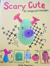 Nuevo patrón de ganchillo Libro 25 Amigurumis Monstruos Miniatura Cute juguetes para niños