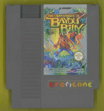 THE ADVENTURES OF BAYOU BILLY Nintendo Nes Vers Europea PAL A »»» SOLO CARTUCCIA