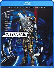 SATURN 3 New Sealed Blu-ray + DVD Kirk Douglas Farrah Fawcett