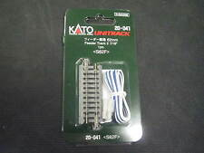 Kato N-scale UniTrack FEEDER TRACK 62mm straight 20-041 (1)