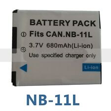 Battery Pack NB-11LH 680mAh for Canon PowerShot ELPH110,ELPH320, ELPH340