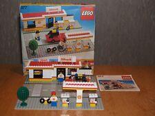 Lego 377 Shell Service Station von 1978 mit OVP Box und BA 80er Classic Legoland