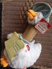 New Cuddle Barn Animated Talking MOTHER GOOSE Reads 5 Nursery Rhymes Blue Hat