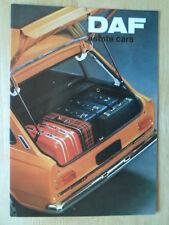 DAF 44 & 55 Estate Cars orig 1971 UK Market sales brochure