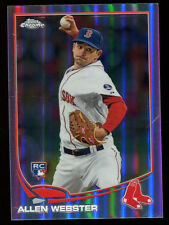 2013 Topps Chrome Refractor #112 Allen Webster