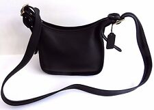 Gorgeous Authentic Coach Janice's Legacy Black Leather Bag Handbag Purse 9950