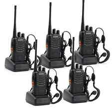 Walkie Talkie 2 Two Way Radio Frs Gmrs Mile 5 Pack Motorola Paintball Handheld