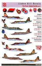 Linden Hill Decals 1/72 SUKHOI Su-25 FROGFOOT in Global Service Part 1