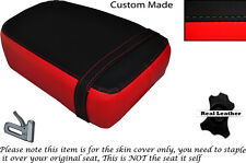 RED & BLACK CUSTOM FITS KINROAD XT 125 16 REAR LEATHER SEAT COVER ONLY