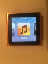 Apple iPod nano 6th Generation Orange (8GB)