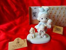 1985 Precious Moments  #100137 Figurine  Joy is My Strength CHARITY SALE