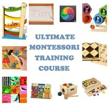 MONTESSORI METHOD E-BOOKS PRESCHOOL 2-6 TRAINING CURRICULUM TEACHERS / PARENTS