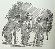 ** 1933 1st Ed - Norman Lindsay PAN IN THE PARLOUR - FREE WORLDWIDE SHIPPING