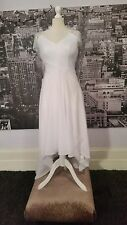 JJs House Sequin Dress (White-Size 14-16) Prom, Wedding, Bridesmaid, RRP £250+