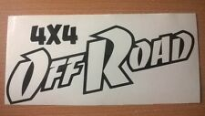 4x4 off road vinyl car stickers pickup truck jeep quad land rover graphics x2