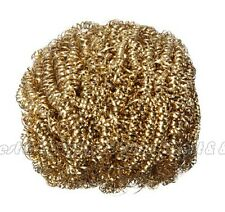 Soldering Solder Iron Tip Cleaner Brass Cleaning Wire Sponge Ball IC9