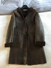 Super Warm And Rare Jil Sander Shearling Coat Size 34/UK 6 RRP £2700