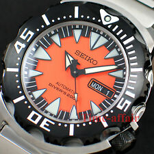 SEIKO SUPERIOR AUTOMATIC ORANGE MONSTER DIVER'S 200M STEEL WATCH SRP315K2