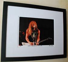 Metallica  James Hetfield Long Beach Arena June 14, 1986 fine art photo #10/100