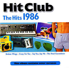 "HIT CLUB ""The Hits 1986"" CD 17 Tracks NEU & OVP Promo Sound"