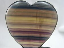 Fluorite Crystal Heart - FREE FAST SHIPPING, Best Price, US SELLER Great Quality