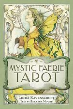 Mystic Faerie Tarot Deck by Barbara Moore and Linda Ravenscroft