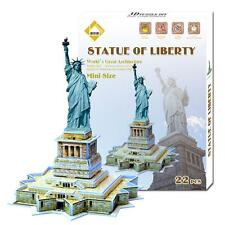 Educational 3D Model Puzzle Jigsaw Mini Statue of Liberty DIY Toy New