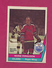RARE 1977-78 OPC WHA # 52 OILERS NORM FERGUSON MINT CARD  (INV#1797)