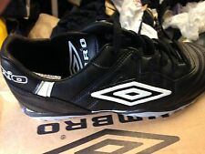 UMBRO SPECIALI black footbal trainerst in leather size 1 2 3 4 5 OR 5. uk at £10