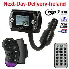 Wireless Bluetooth LCD FM Transmitter Wheel Modulator USB Car Kit MP3 Player SD