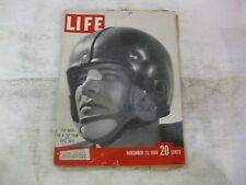 Life Magazine November 13th 1950 Top Back Kyle Rote Cover Publisher Time   mg415
