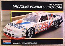 Monogram 1/24 #75 Neil Bonnett's Valvoline Pontiac *Vintage* Plastic Model Kit