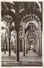 Tarjeta Postal CÓRDOBA - Mezquita. Laberinto de Columnas