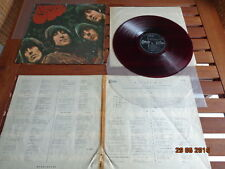 "THE BEATLES ""RUBBER SOUL"" - LP JAPAN  ""RED WAX"" + INSERTS -  OP 7450"