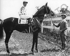 OMAHA 1935 KENTUCKY DERBY PREAKNESS BELMONT TRIPLE CROWN WINNER 8X10 PHOTO
