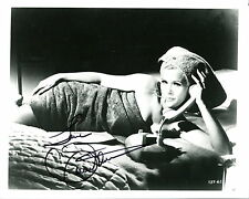 CONNIE STEVENS HAND SIGNED 8x10 PHOTO+COA       YOUNG+SEXY WRAPPED IN A TOWEL