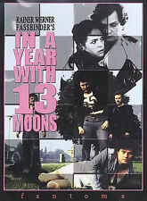 In a Year With 13 Moons (DVD, 2004) MINT Fassbinder  AUTHENTIC U.S. w/ booklet