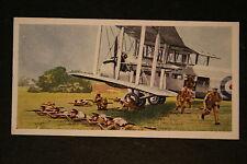 British Airborn Troops   Vickers Valentia    Vintage Card  VGC