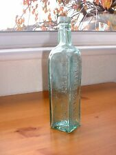SHIELDHALL S.C.W.S. COFFEE & CHICORY ANTIQUE BOTTLE  *