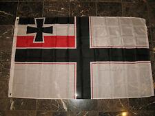 3x5 German Deutsch Reich Imperial Germany WW1 Naval Jack Flag 3'x5' Banner