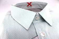 Mens Calvin Klein Extreme Slim Fit Designer Dress Shirt 17-17.5 34/35 Bermuda