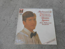 RACHMANINOFF-PIANO CONCERTO # 3-SGOUROS-SIMONOV-LP--ANGEL-DMM-PROMO-SEALED-NEW