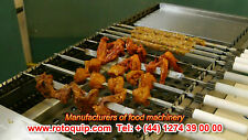 Automatic Seekh Kebab Conveyor BBQ Grill ORIGINAL Auto Rotating Variable Speed