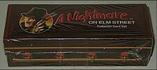SEALED Freddy Krueger COFFIN CARD SET Nightmare on Elm Street Vintage Trading