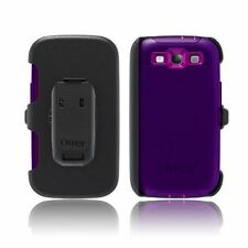 OtterBox Defender Series Mobile Case for Samsung Galaxy SIII 3 Purple Tough Rugg