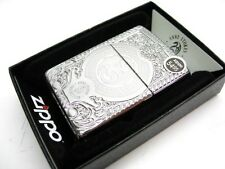 ZIPPO High Polish Chrome ANNE STOKES Dragon Armor Windproof Lighter! 28962