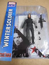 """MARVEL SELECT CIVIL WAR """"WINTER SOLDIER"""" ACTION FIGURE (DIAMOND SELECT) NEW."""
