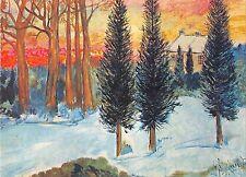 BT3766 Georges Boulmant Sneeuw paint peintures