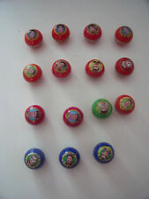 15 SOCCER STARBLES BALLS CHELSEA, ARSENAL MAN U WEST HAM - football - BUNDLE